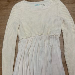 Urban outfitters babydoll sweater top
